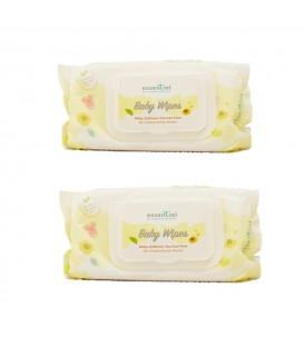 Essential By TMC Milky Soft Baby Wipes(80's) (2 packs)