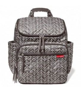 SKIP HOP Forma Backpack- Grey Feather