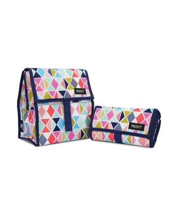 Packit Freezable Lunch Bag - Festive Gem