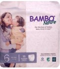 Bambo Nature Pampers Stage 6 (XL) 18+ kg (Training Pants)