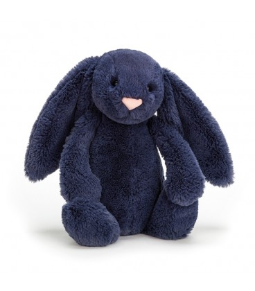 Jellycat Bashful Bunny Navy Medium