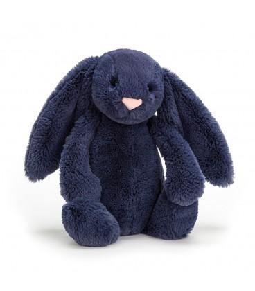 Jellycat Bashful Bunny Navy Medium