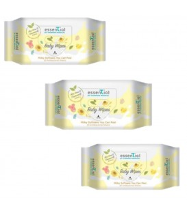 Essential By TMC Milky Soft Baby Wipes (30s) 3 Packs