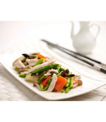 Asparagus and Vegetables