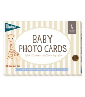 Milestone Baby Photo Cards - Sophie la girafe
