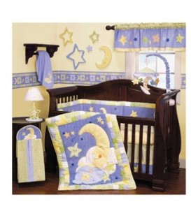 Shears 4pcs bedding set ( Yellow Moon)