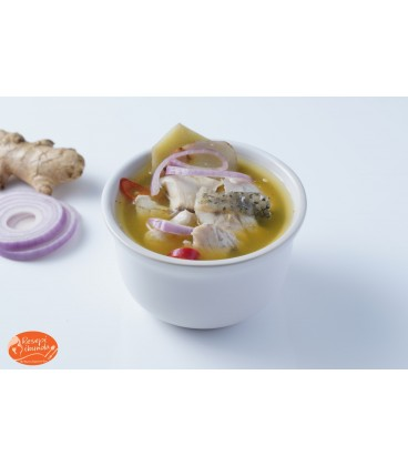 Resepi Ibunda Halal Confinement Food - Seabass Soup