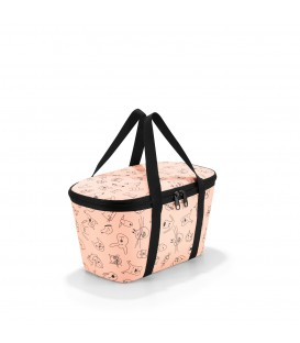 Reisenthel Cooler Bag XS cats & dogs - Rose