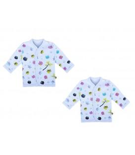 Babies Culture Long Sleeve Blue Top(0-3m)(Buy 1 Get 1 Free)