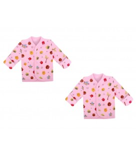 Babies Culture Long Sleeve Pink  Top(3-6m)(Buy 1 Get 1 Free)