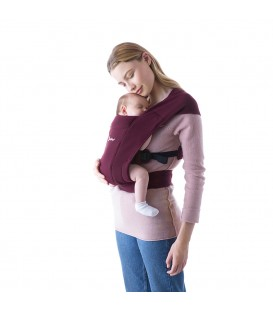 Ergobaby Embrace Carrier - Burgundy