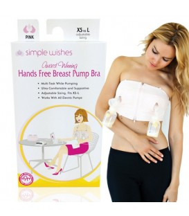 Simply Wishes Hands Free Breast Pump Bra