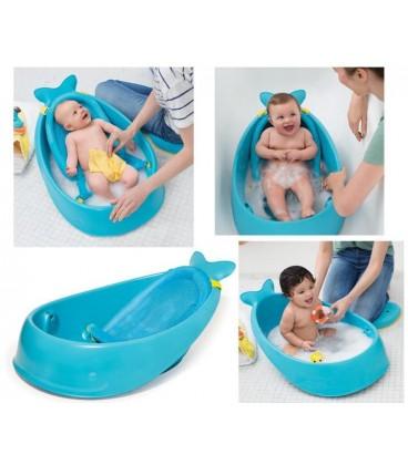 Skip Hop Moby  Smart Sling™ 3-stage Baby Tub - Blue