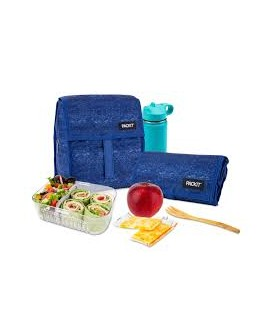 Packit Freezable Lunch Bag - Navy Blue