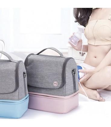 59S UVC Led Sterilization Mommy Bag - Blue