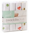 Aden & Anais Swaddle 4 Pack - Life's a Hoot