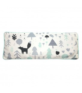 KRFTD Baby Woodland Icy Mint Snuggy Beansprout Husk Pillow