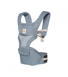 Ergobaby Hipseat Cool Air Mesh Carrier - Oxford Blue