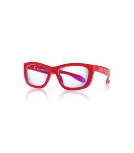 Shadez Blue Light Eyewear Protection Teeny  (7 - 16yrs old) - Red