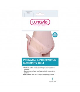 LUNAVIE PRENATAL AND POSTPARTUM MATERNITY BELT- XL SIZE
