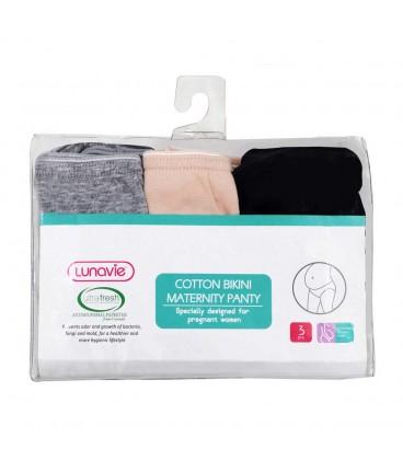 Lunavie Cotton Bikini Maternity Panty - XL Size