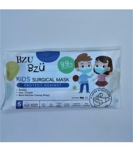 BZU BZU Kids Surgical Masks 5's