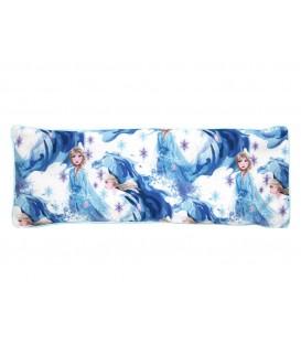 KRFTD Snuggy Frozen 2 Elsa Snuggy Beansprout Husk Pillow - Blue