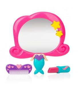Nuby Mermaid Mirror Bath Set