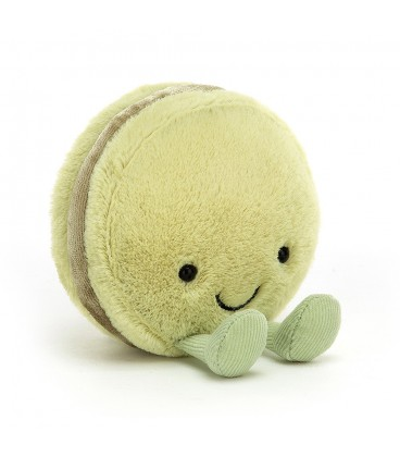 JellyCat Amuseable Pistachio Macaron