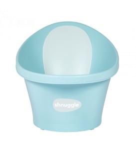 Shnuggle Baby Bath With Plug & Foam Backrest- Aqua