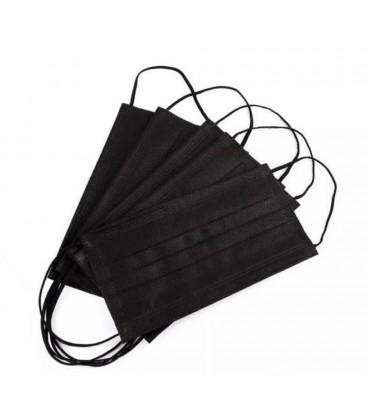 BabyU Disposable Protective Mask - Black