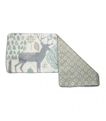 KRFTD Woodland Animals ( Green) Beansprout Pillow Cover