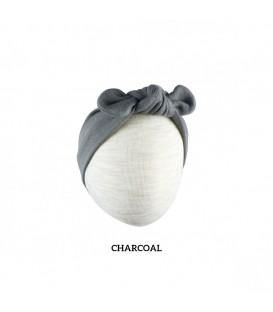 Little Palmerhaus Baby Headband (Charcoal)