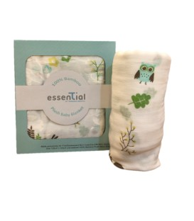 Essential By Thomson 100% Bamboo Plush Baby Blanket