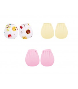Babies Culture Mittens ( 3 pair) ( Girl set)