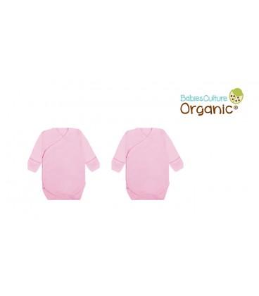 Babies Culture 2 Pcs Kimono Set (0-3) Pink