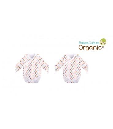 Babies Culture 2 Pcs Kimono Set (0-3m) (Polka Dots)