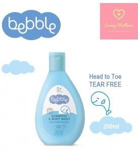 Bebble Shampoo & Body wash 200ml