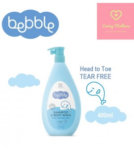 Bebble Shampoo & Body wash 400ml