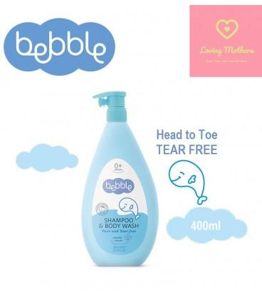 Bebble Shampoo & Body wash 400ml