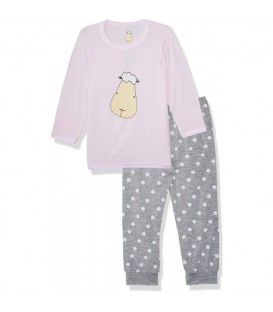 Baa Baa Sheepz - Pyjamas Set White Big Star & Sheepz + Blue Star