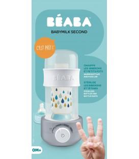 Beaba Baby Milk Second 3 in 1 Bottle Warmer (Grey)