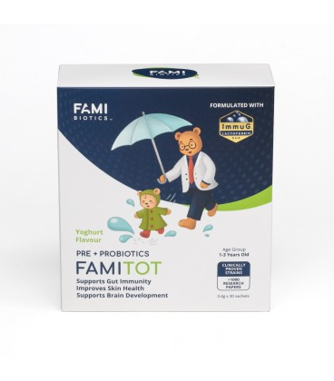 FamiTOT 3.4gm x 30 Sachets (Yoghurt Flavour)