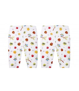 Babies Culture Long Pants Owl (Open Feet) (0-3m) Buy 1 Get 1 Free