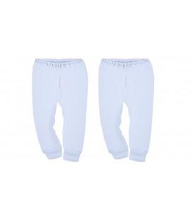 Babies Culture 2pcs Long Pants (0-3M) Close Feet