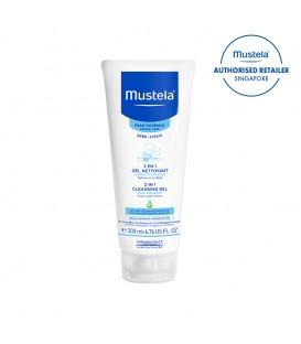 Mustela 2 in 1 Cleansing Gel 200ml (MN-2IN1)