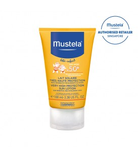 Mustela SPF50+ Sun Protection Lotion 100ml (MN-SPF50SPL100)