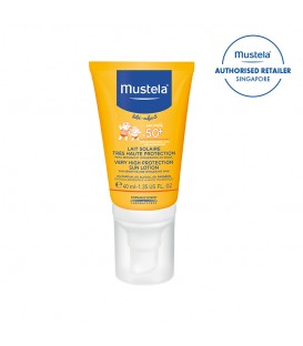 Mustela SPF50+ Sun Protection Lotion 40ml (MN-SPF50SPL40)