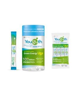 Youguth Probiotics Green Energy Up 100B CFUS 30S