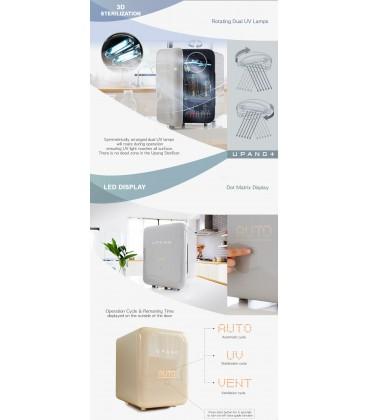 Upang Plus UV Baby Bottle Sterilizer - Terracotta Orange